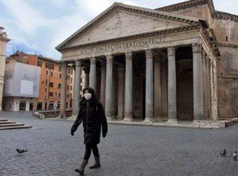 La muerte de mas de 250 personas en un solo día en Italia
