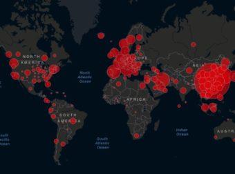 MAPA DEL CORONAVIRUS EN SU TIEMPO REAL  (CNN)