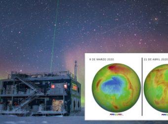 Buenas noticias: El agujero de la capa de ozono del Ártico se cerro informan científicos (VIDEO)