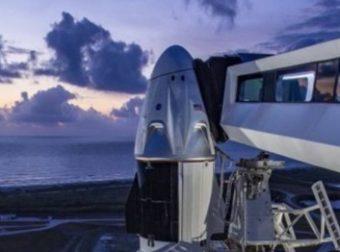 SPACE X: El primer cohete tripulado privado se esta lanzando al espacio hoy a las 3.30 pm hora Perú