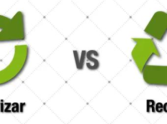 Diferencias entre reutilizar y reciclar